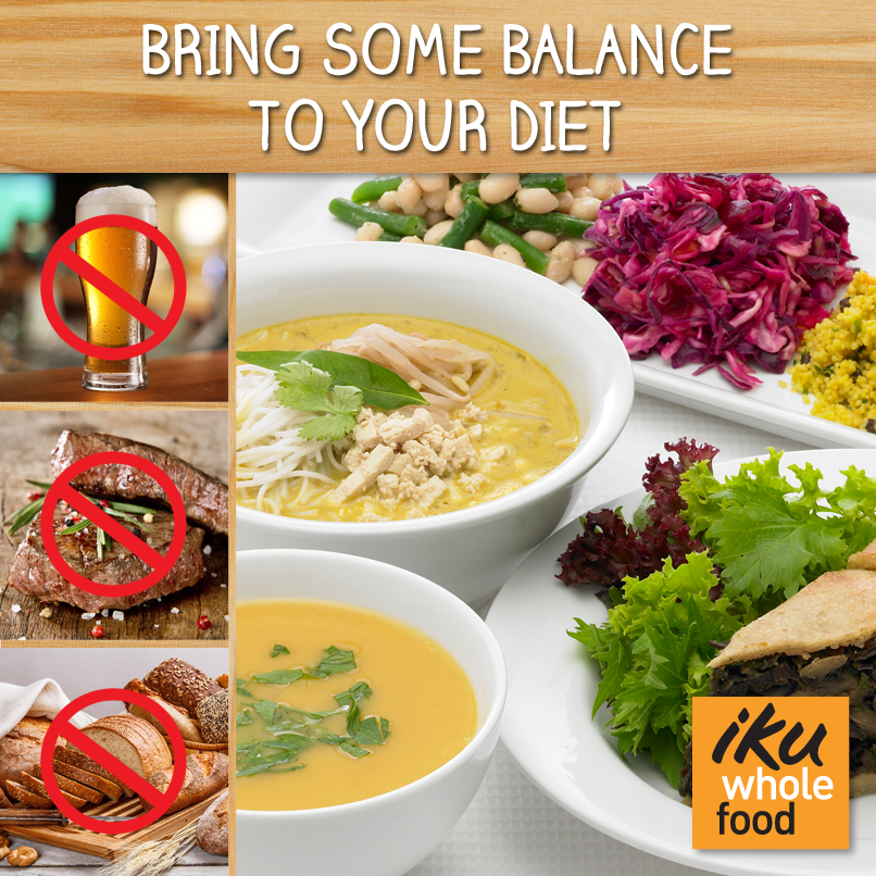 Iku Wholefood: Balanced Diet