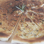 Garlic & Rosemary Pizza