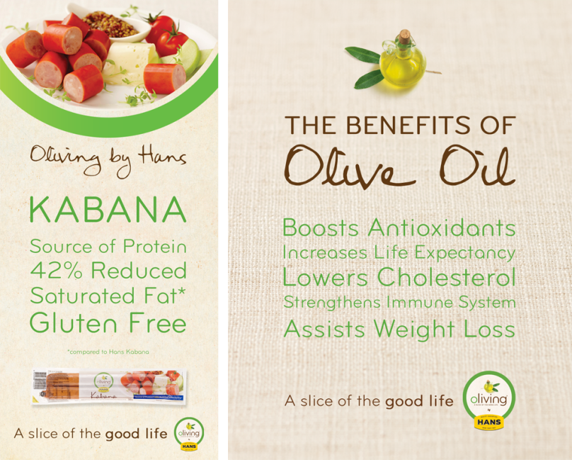 Oliving by Hans: Kabana & The Benefits of Olive Oil