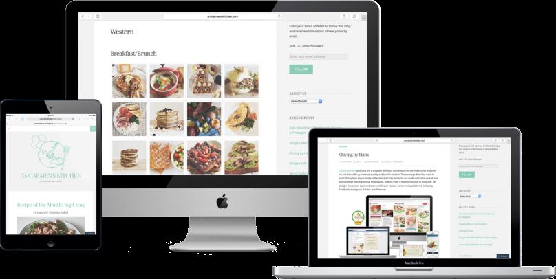 Amcarmen's Kitchen WordPress
