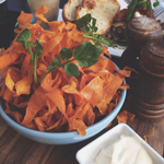 Ampersand: Sweet Potato Crisps