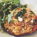 Ampersand: Stuffed Red Capsicum