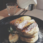 Bar Indigo: Fluffy Buttermilk Pancakes