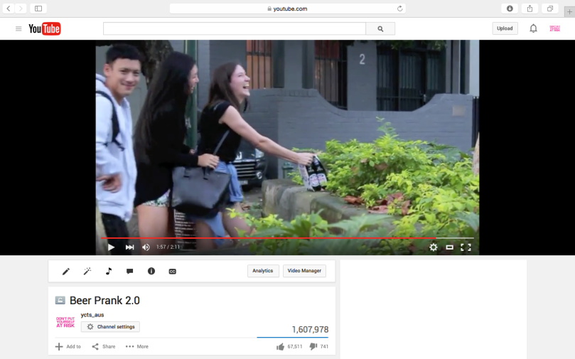#youcalltheshots YouTube Public Prank Video