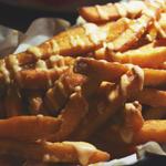 Belly Bao: Sweet Potato Fries drizzled with Chilli Aïoli