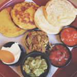 Cafe Con Leche: Arepas for 4