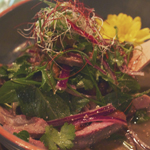 In Asia: Tea Smoked Duck Breast Salad