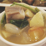 Mesa: Sinigang na baboy in guava and pineapple