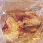 O Crab: 300G Prawns in Garlic Butter