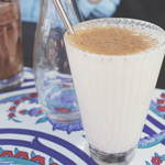 Rustic Pearl: Banana Cinnamon Smoothie