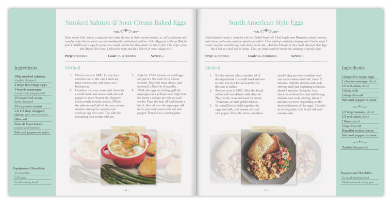 Amcarmen's Kitchen Sneak Peak Cookbook