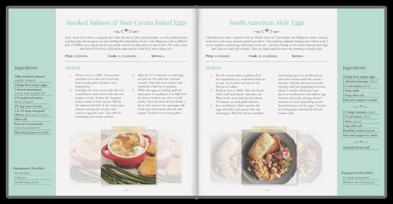Amcarmen's Kitchen Sneak Peak Cookbook