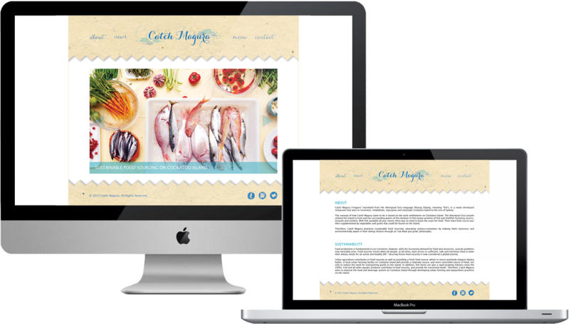 Catch Magura Website Designs in Context