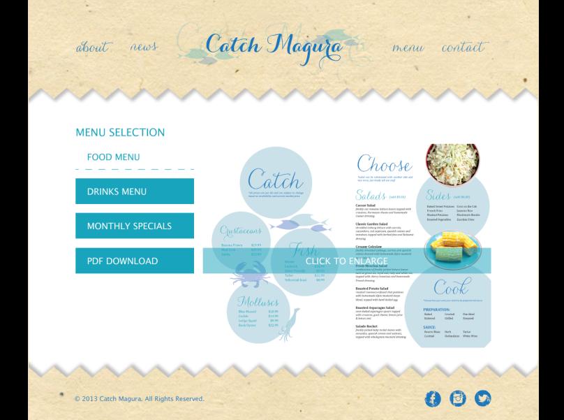 Catch Magura Website Designs Page 04