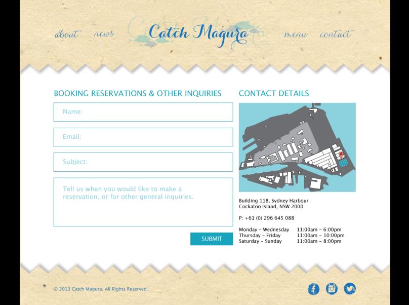 Catch Magura Website Designs Page 05