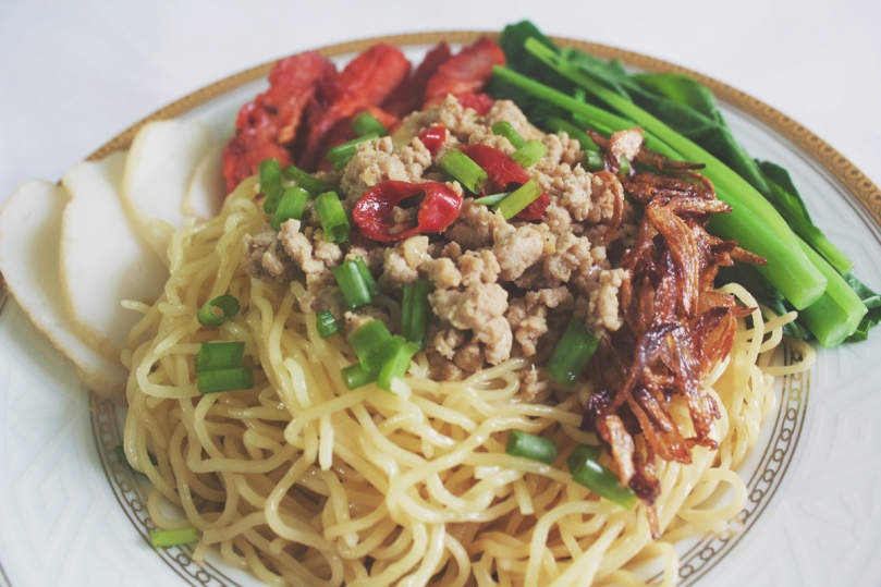 Kolo Mee (Flash-boiled Egg Noodles)