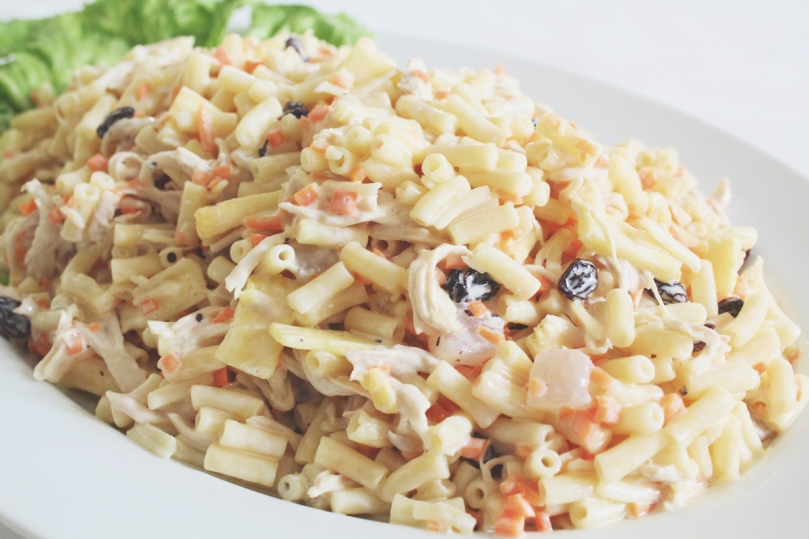 Filipino-style Chicken Macaroni Salad