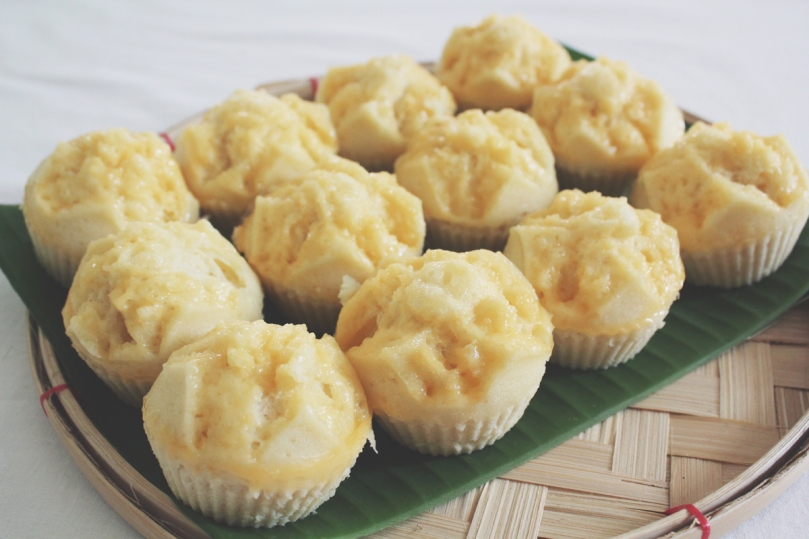 Puto (Steamed Rice Cakes)