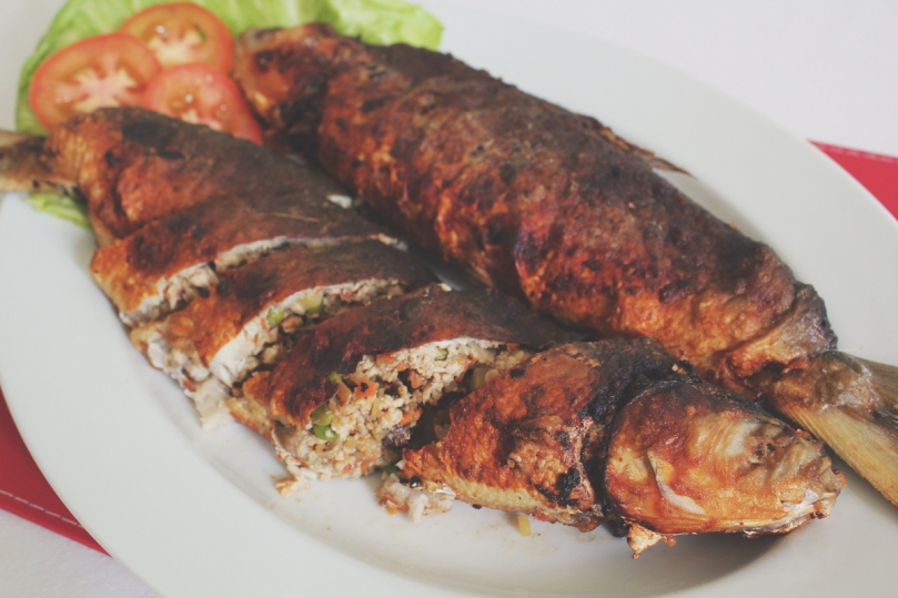 Rellenong Bangus (Stuffed Milkfish)