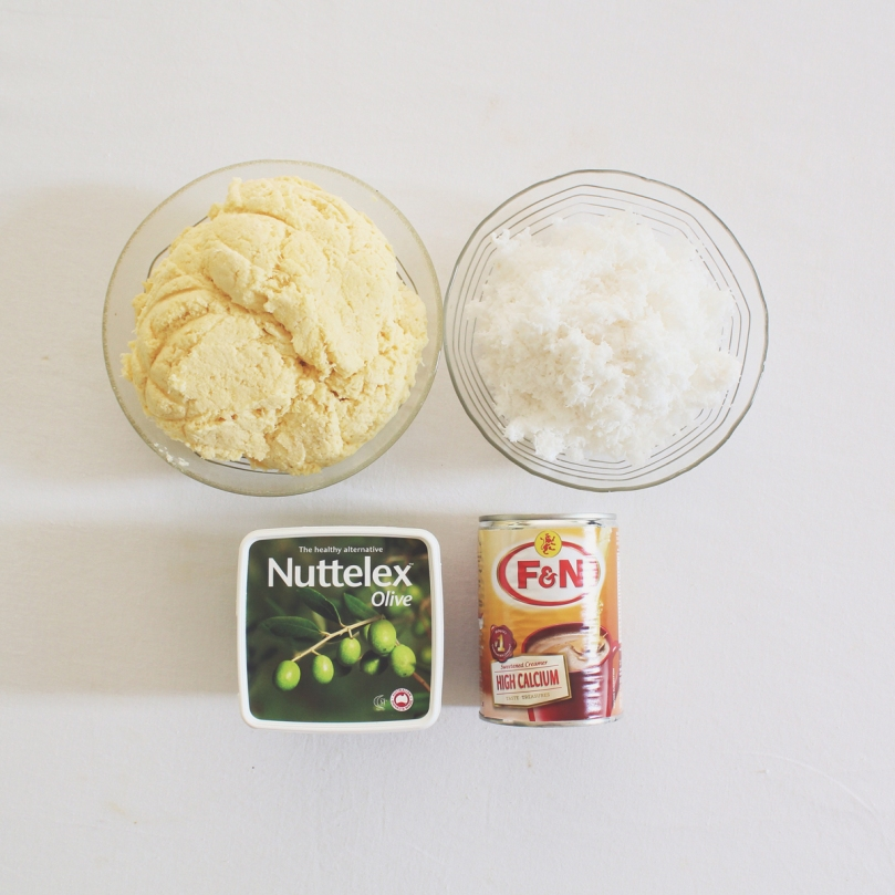 Cassava Cake Ingredients