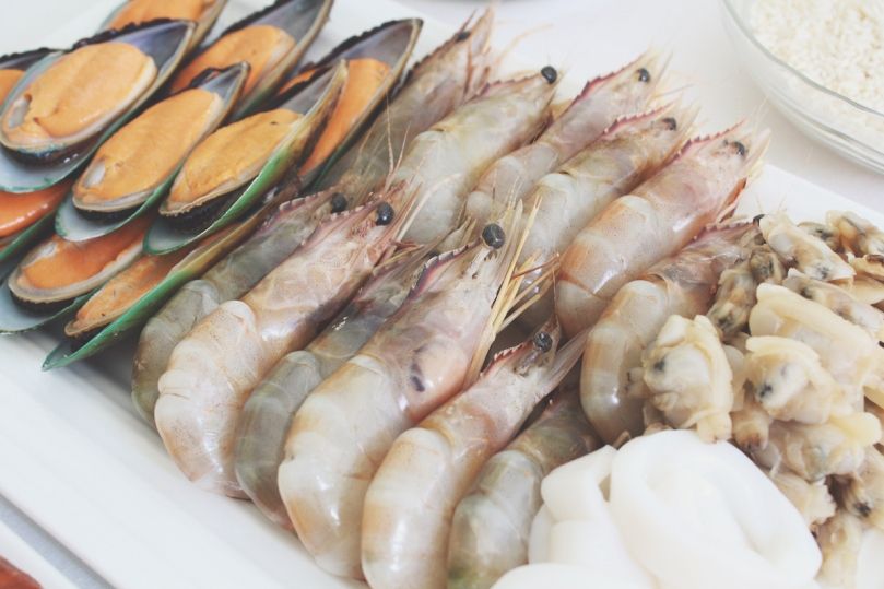 Paella de Marisco (Seafood Paella) Ingredients