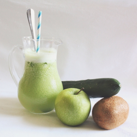 Apple + Cucumber + Kiwi Juice