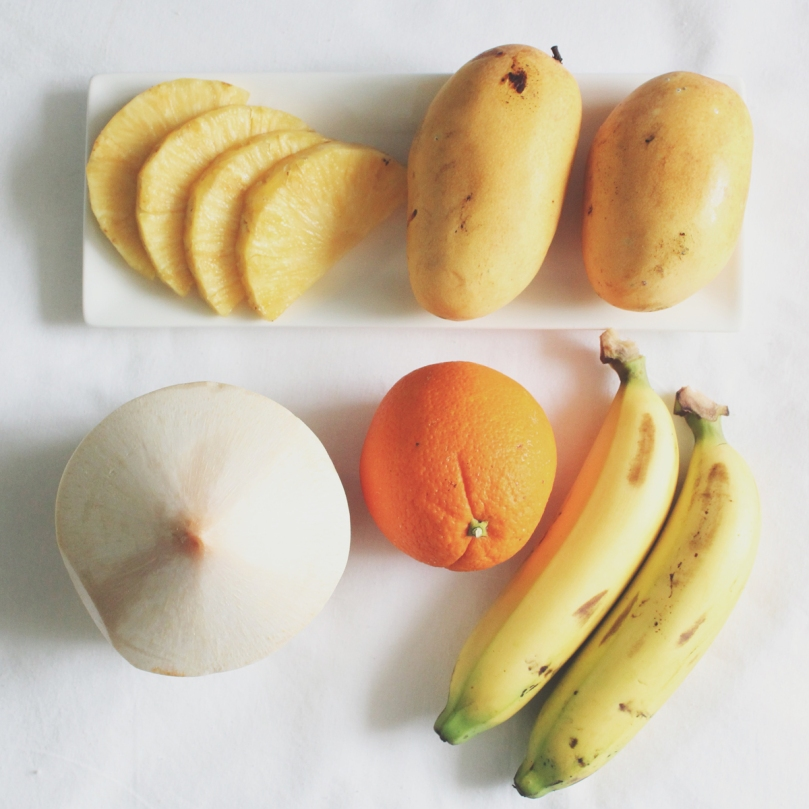 Tropical Mix Smoothie Ingredients