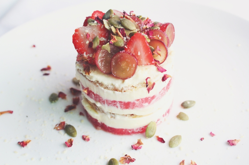 Strawberry & Watermelon Cake