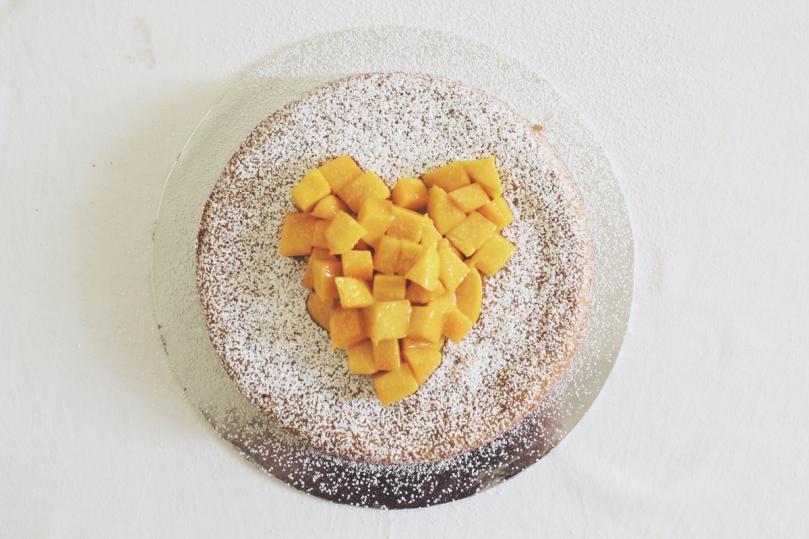 Moist Mango Pound Cake