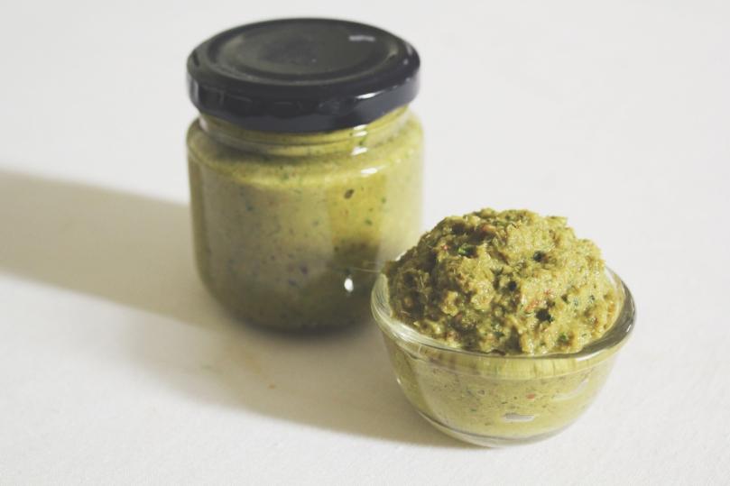 Homemade Thai Green Curry Paste