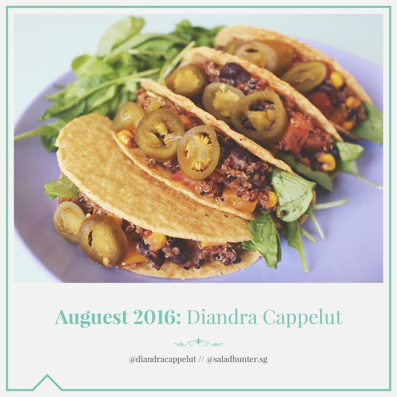 Auguest 2016: Diandra Cappelut