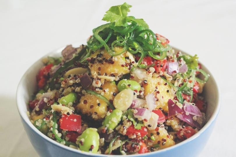 California-inspired Quinoa Salad