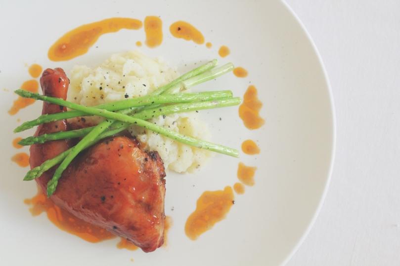 Bourbon & Maple Glazed Chicken