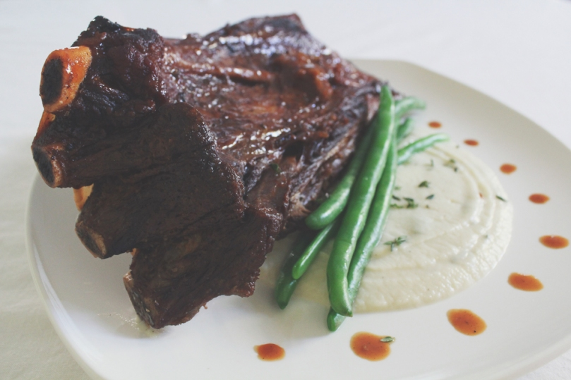 Bourbon & Coke Beef Short Ribs