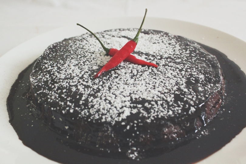 Chilli Chocolate & Cinnamon Cake