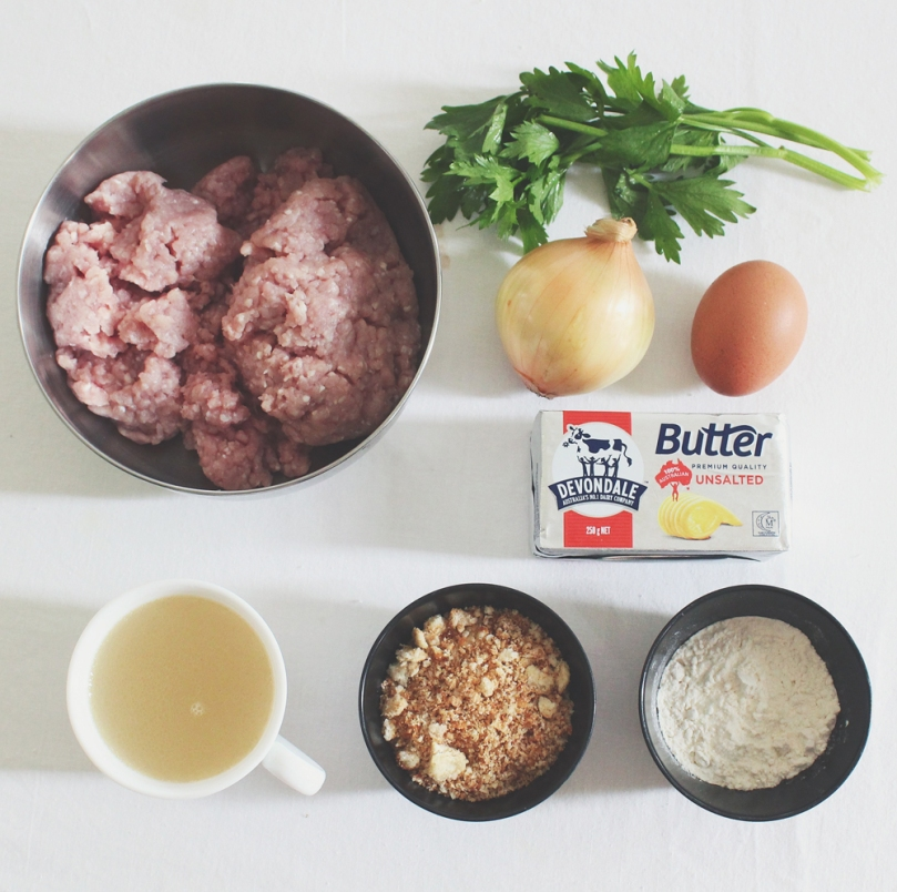 Svenska Köttbullar (Swedish Meatballs) Ingredients