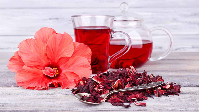 High Blood Pressure (Hypertension): Hibiscus Tea