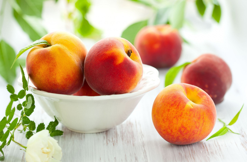 High Blood Pressure (Hypertension): Peaches & Nectarines