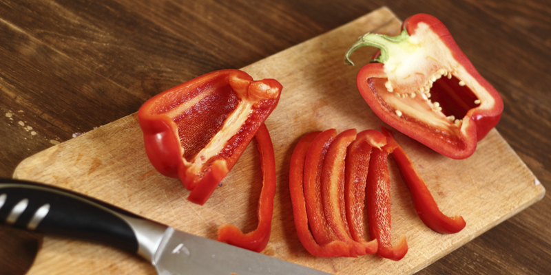 High Blood Pressure (Hypertension): Red Capsicum