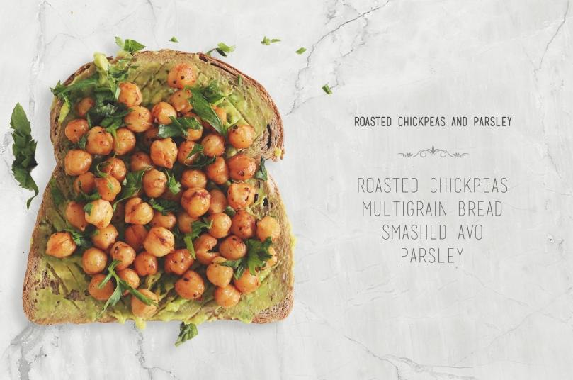 Roasted Chickpeas & Parsley