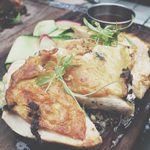 SHED MAINS: CHARCOAL-GRILLED HOLMBRAE 1/2 CHICKEN