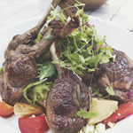 SHED MAINS: CHAR GRILLED MARINATED LAMB CUTLETS
