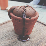 DESSERTS: SELF SAUCING CHOCOLATE PUDDING