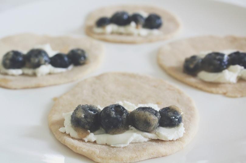 Blueberry Goat Cheese Empanadas