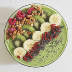Avocado & Spinach Smoothie Bowl