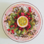 Raspberry & Passionfruit Smoothie Bowl