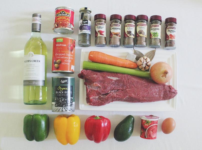 Ropa Vieja Ingredients