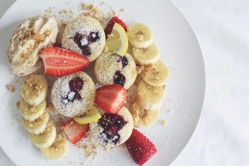 Mini Mixed Berry Pancakes