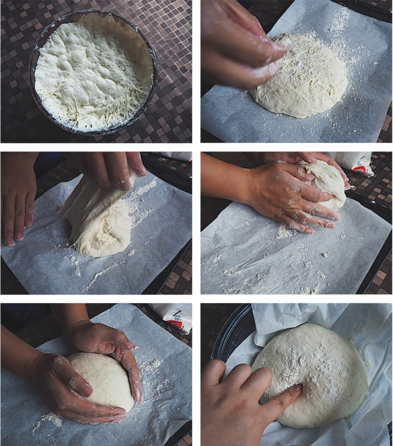 Rustic Bread: Pizza Toast Method