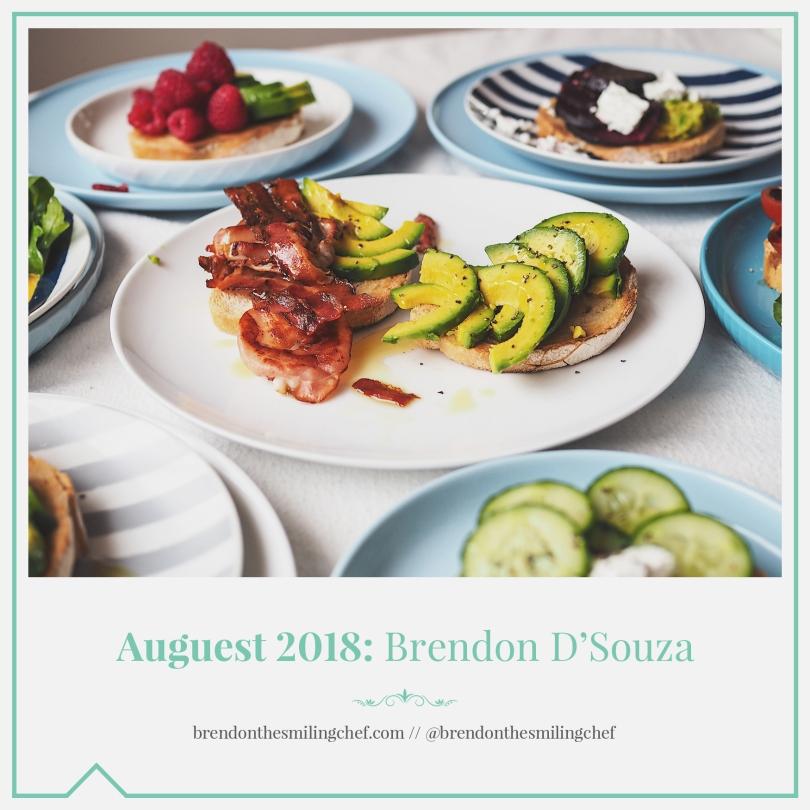 Auguest 2018: Brendon D'Souza